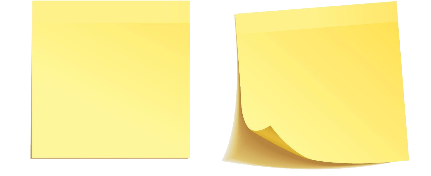 Stick it note png. Peeling sticky notes the