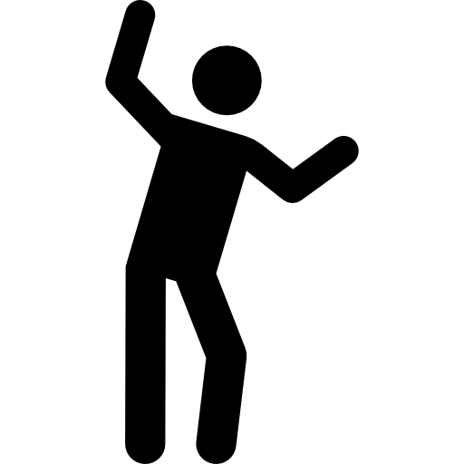 Stick man png. Icon page svg