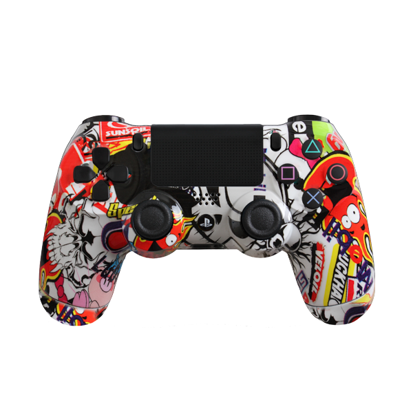 Sticker bomb png. Modded ps controller