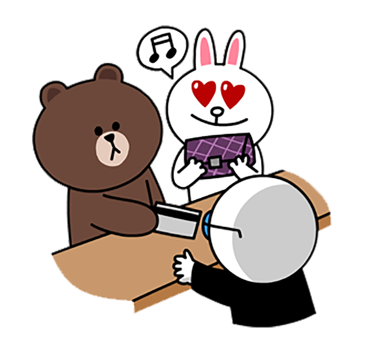 Sticker line png download. Brown bear bears can