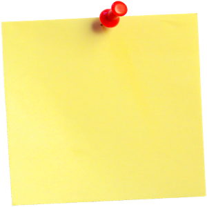 Note page png. Sticky notes images free