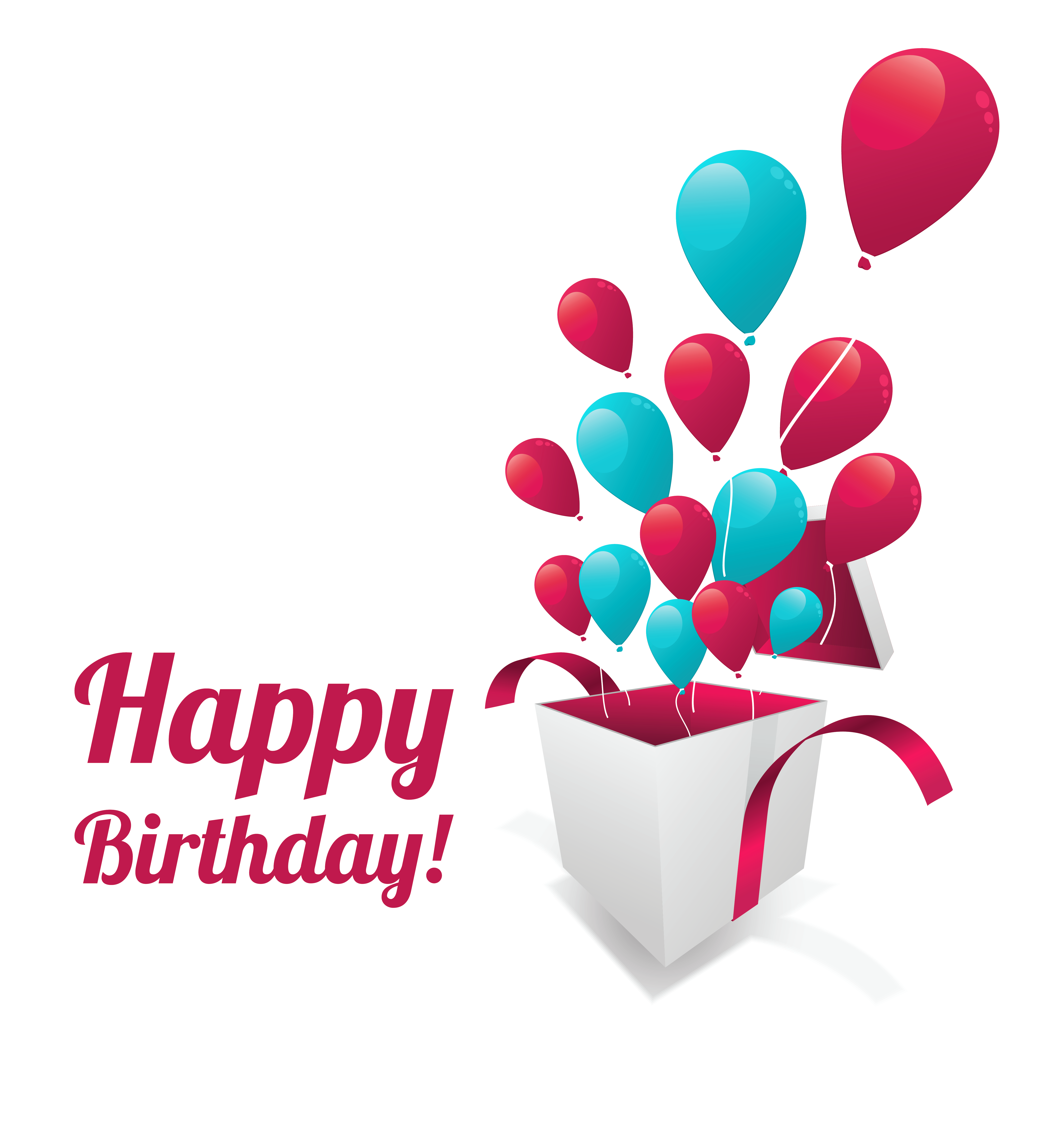 Sticker png download. Happy birthday text clipart