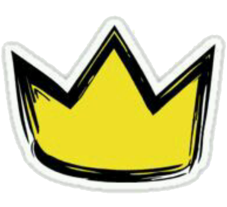 Cute yellow tumblr overlay. Sticker transparent crown svg royalty free download
