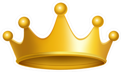 Car stickers decals over. Sticker transparent crown jpg library stock