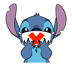 Sticker transparent stitch. Walt disney characters fanpop