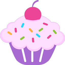 Stickers transparent cupcake. Mod the sims colorful