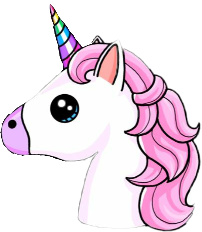 Stickers transparent unicorn. Sticker by fernanda