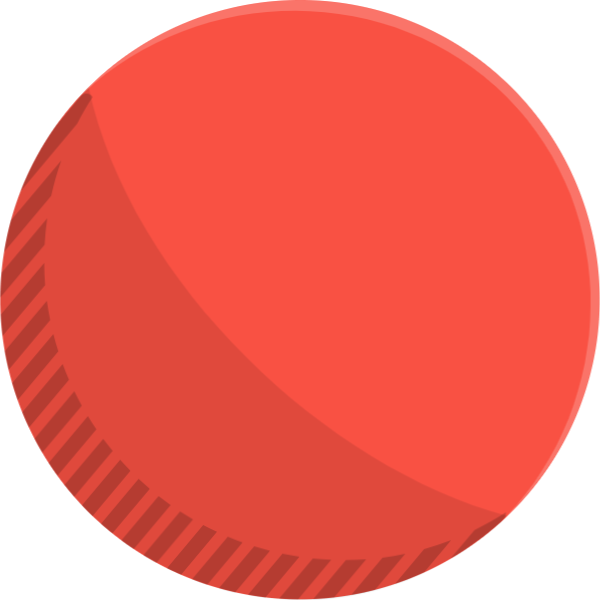 Vector stickers circle. Free online round spherical