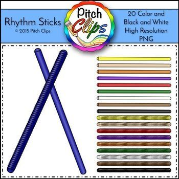 Rhythm clip art commercial. Sticks clipart png free library