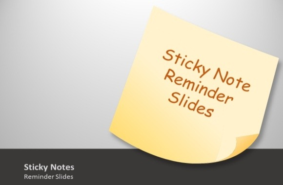 Sticky clipart animated. Notes template toolkit for