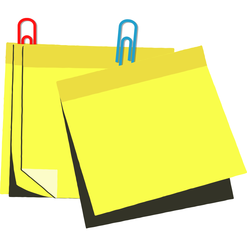 Colorful sticky notes png. Vectors psd and clipart