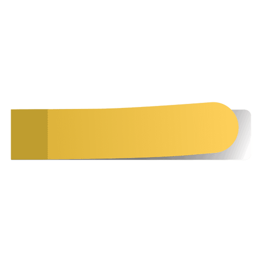 Sticky note png. Yellow page marker transparent