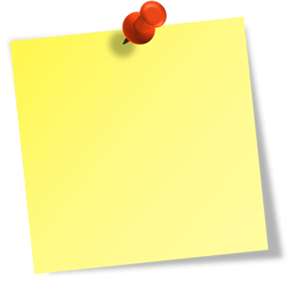 Sticky notes clipart png. Yellow image purepng free