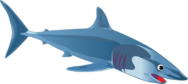 Stingray clipart blue shark. A clip art at