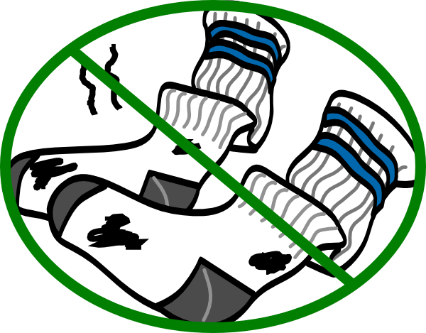 Stinky clothes png. Laundry socks clipart