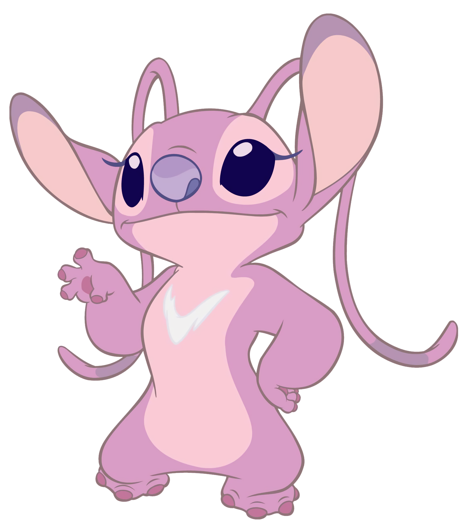 Stitch and angel png. Image transparent disney wiki