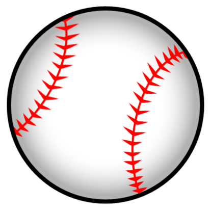 Stitch clipart baseball seam. Bats pinterest softball and