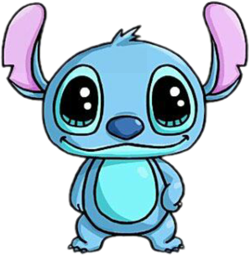 Stitch clipart cute. Sticker by oh la