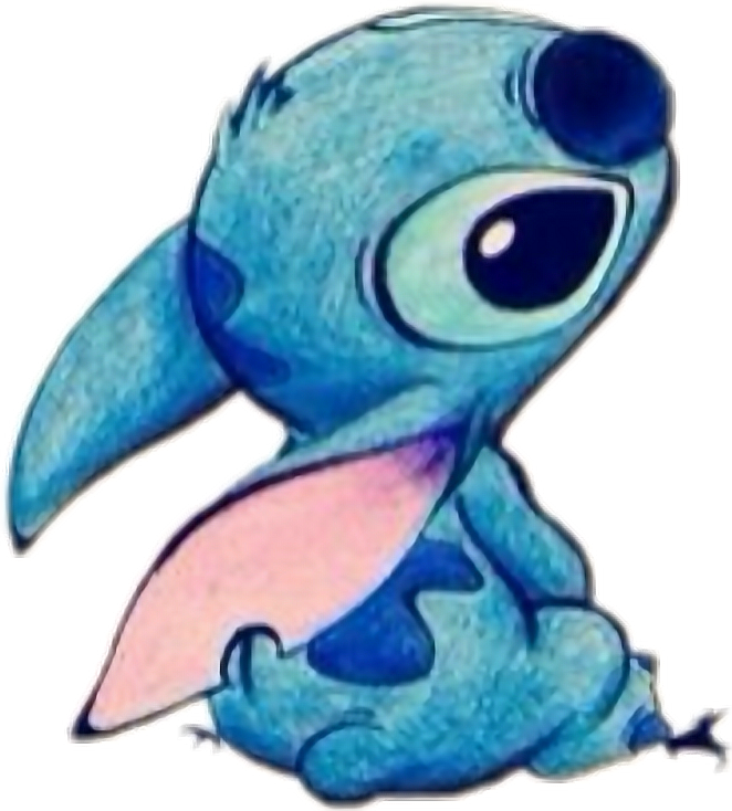 Stitch clipart cute. Lilo stich experiment disney