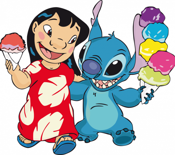 Stitch clipart hilbana. Lilo and wallpaper download