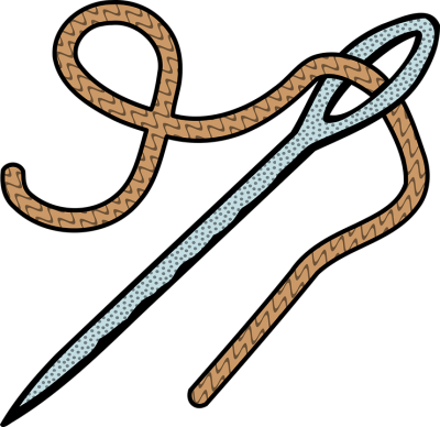 Stitch clipart needle. Download sewing free png