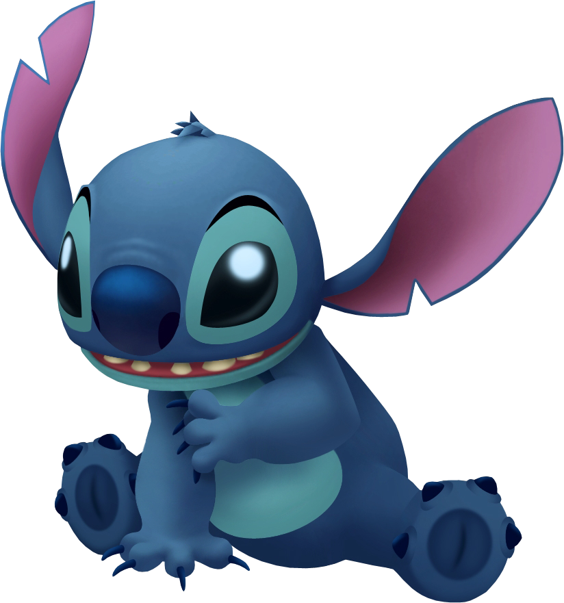Stitch png. Image kingdom hearts wiki