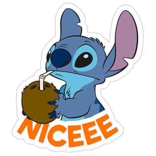 Sticker transparent stitch. Free download lilo viber