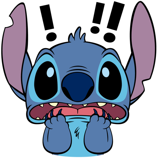 Stitch sticker png. Vk from collection download