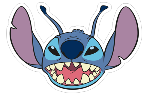 Stitch sticker png. Free download lilo viber