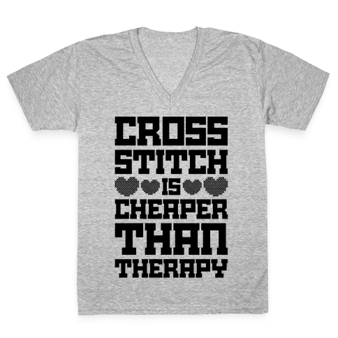 Stitches the rapper png. Cross stitching v neck