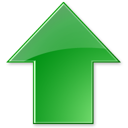 Stock arrow png. Up icon