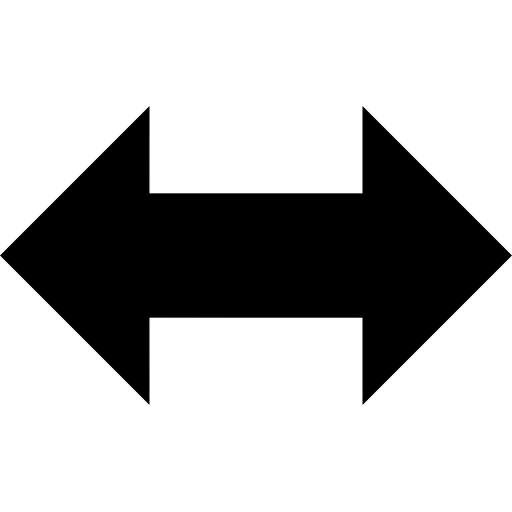 Stock arrow png. Left right double image