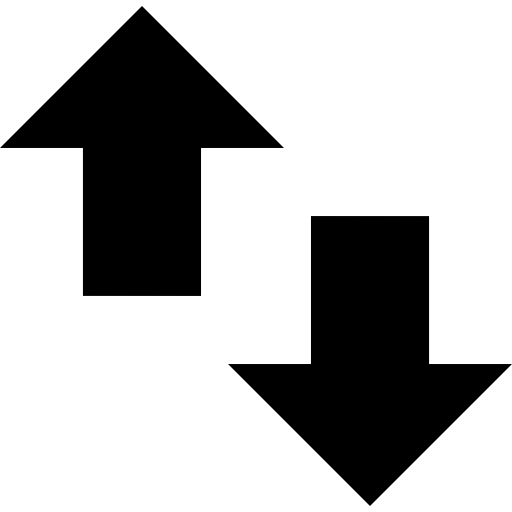 Stock arrow png. Up and down image