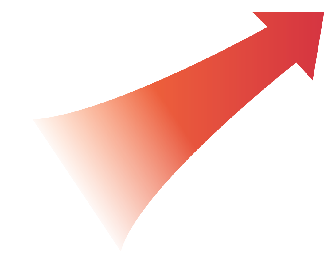 red curved arrow png