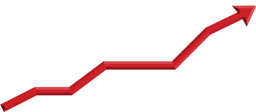Stock graph png. Market up transparent background
