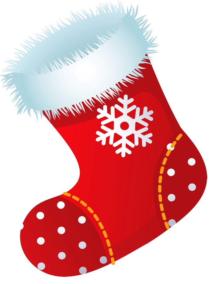 Stocking clipart. Christmas
