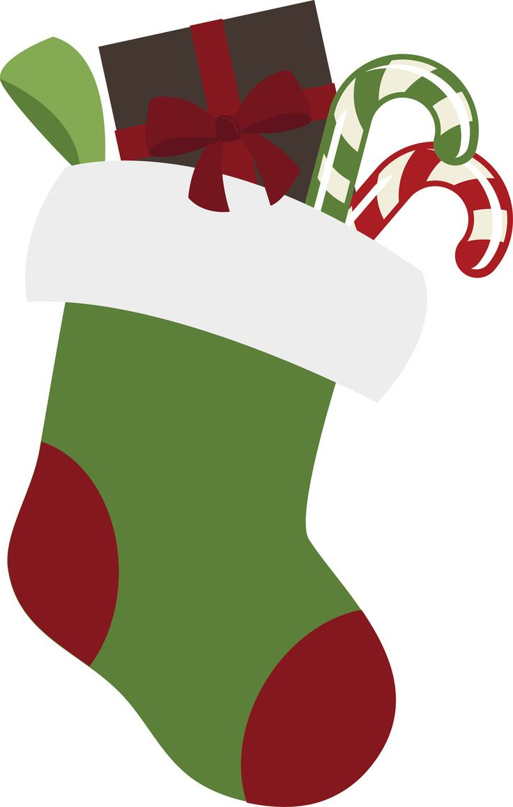 Stocking clipart yule. Best christmas images on