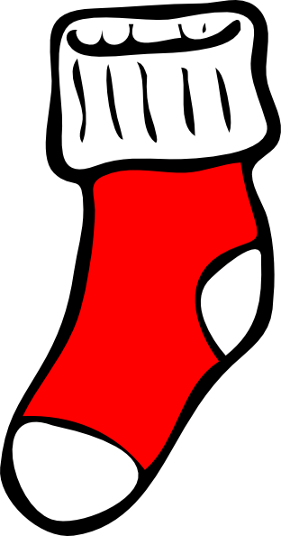 Stocking vector animated. Collection of free chocked