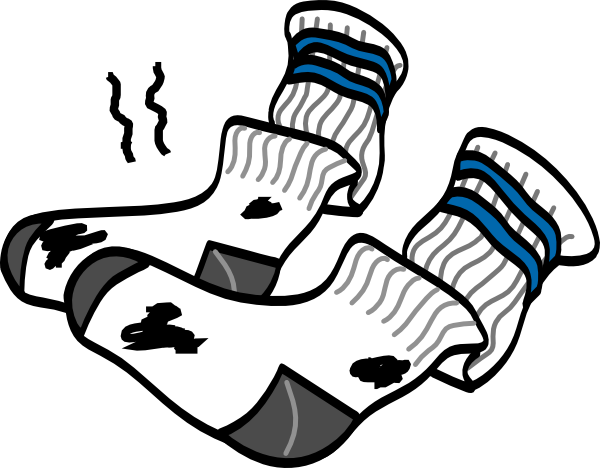 Dirty clothes png. Clipart socks sox graphics