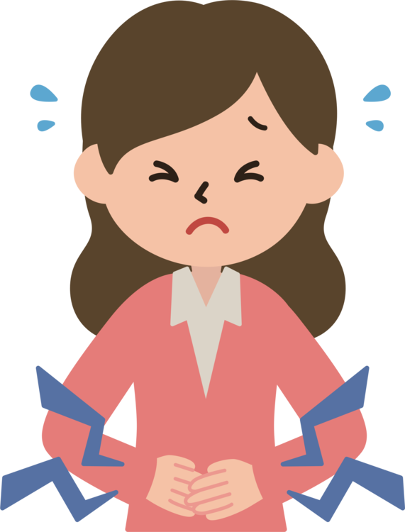 Women clipart stomach ache. Abdominal pain abdomen belly