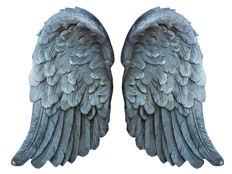 Stone angel png. Wings free image isolated
