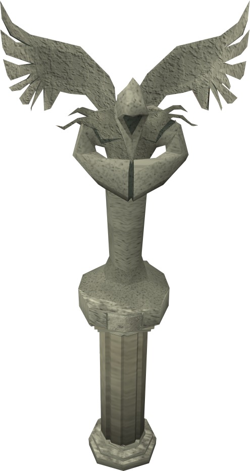 Stone angels png. Image angel detail runescape