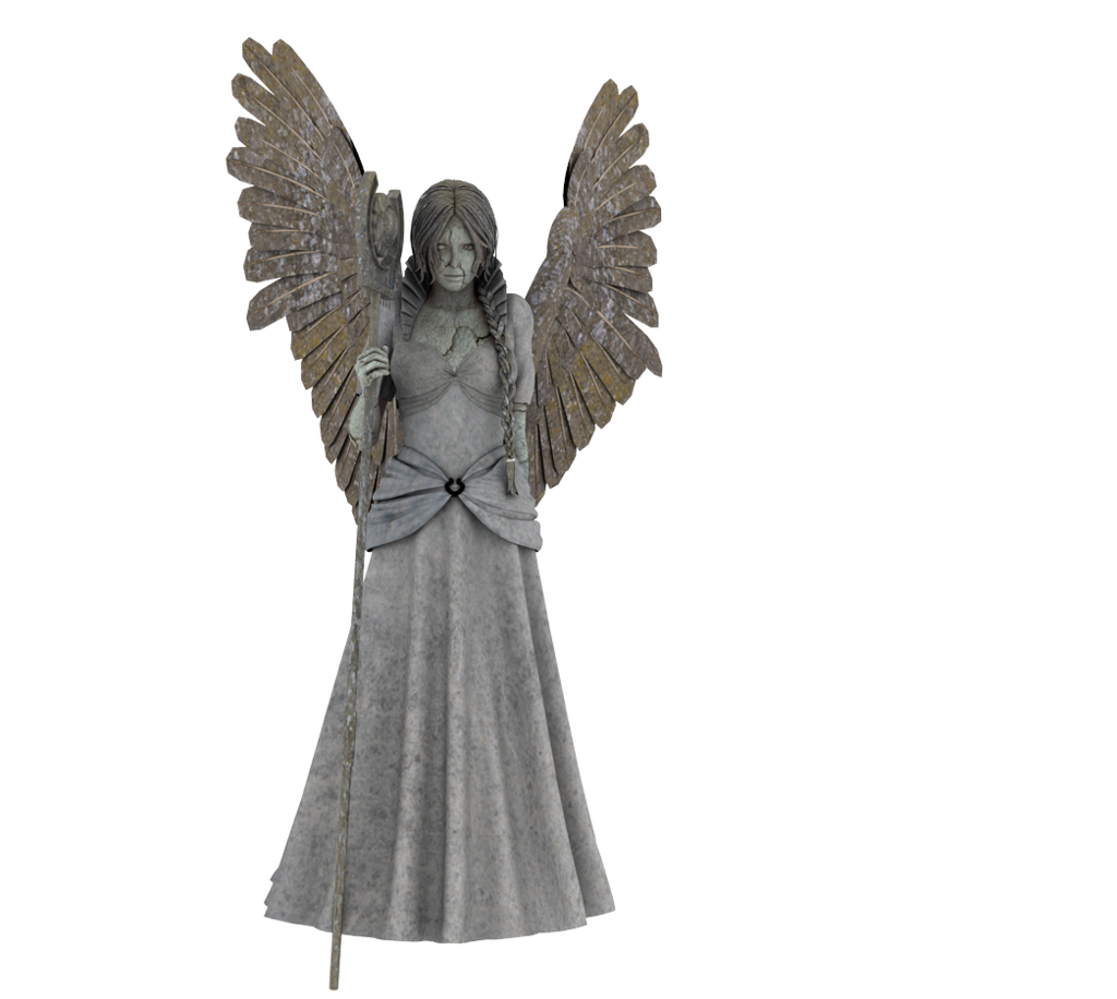 Angel transparent pictures free. Stone angels png jpg black and white download