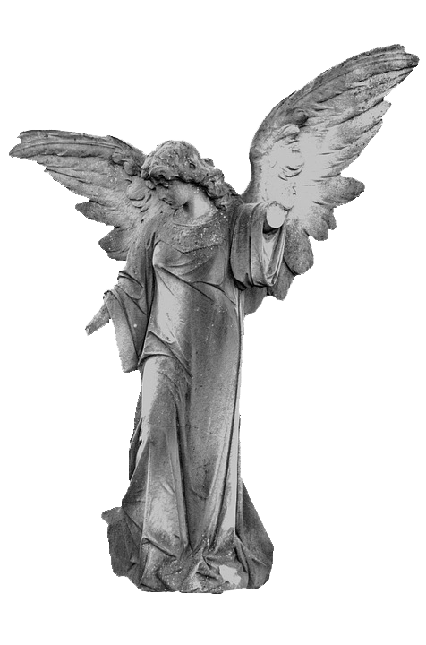 Stone angels png. Angel statue by chaseandlinda