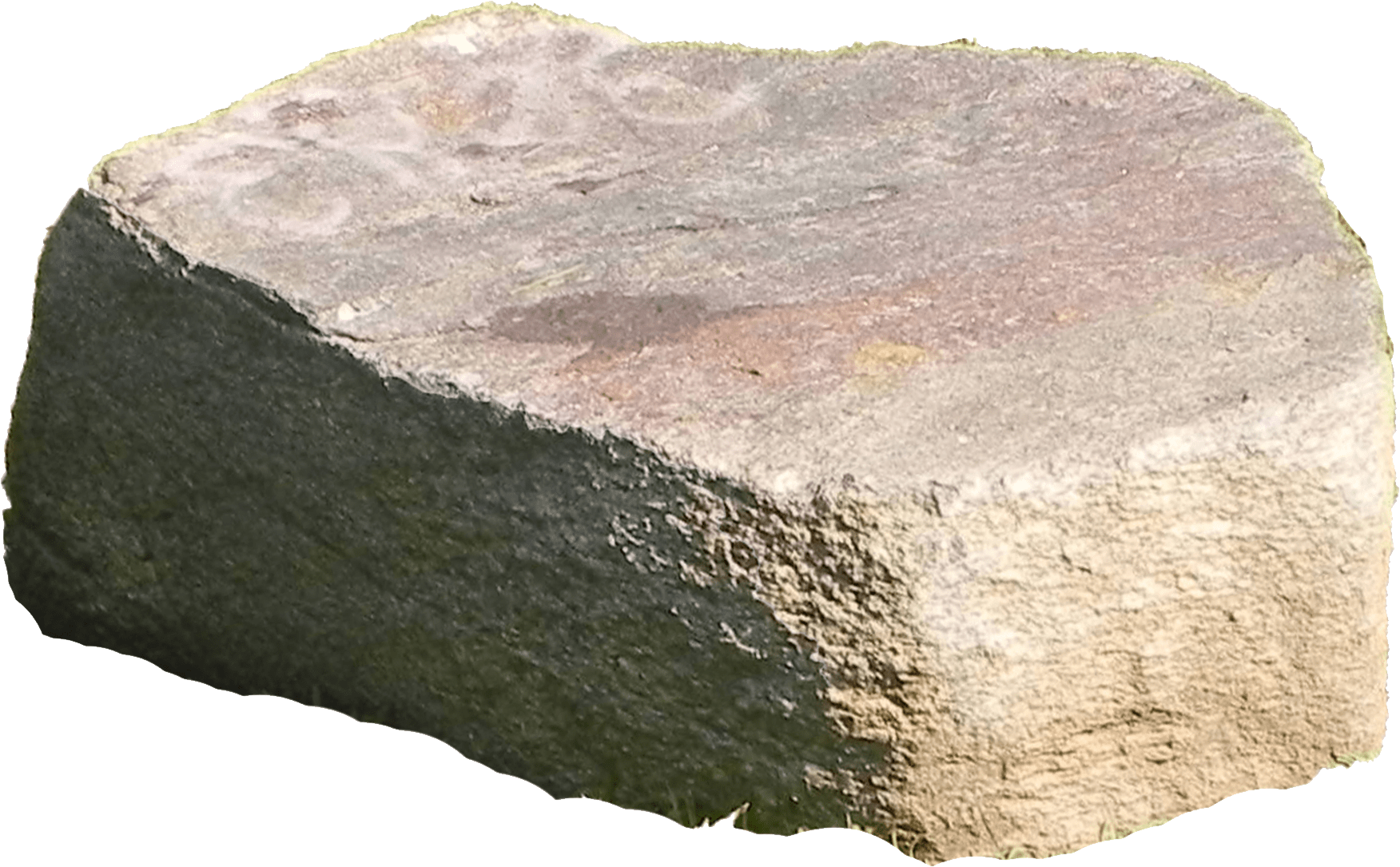 Large boulder png. Stone under the sun