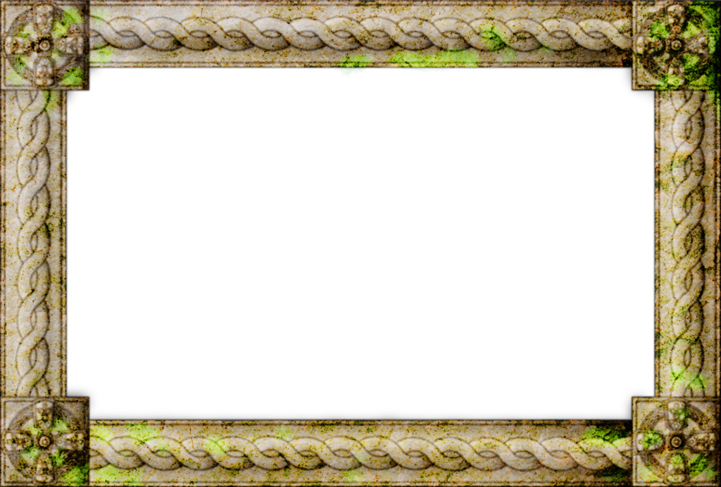 Stone border png. Celtic by grimvak on