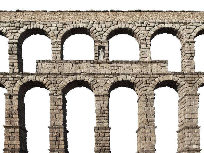 Medieval arch bridge png. Transparent castle stone clip transparent