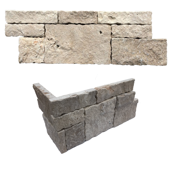Stone clip wall cladding. Trenao inc natural made