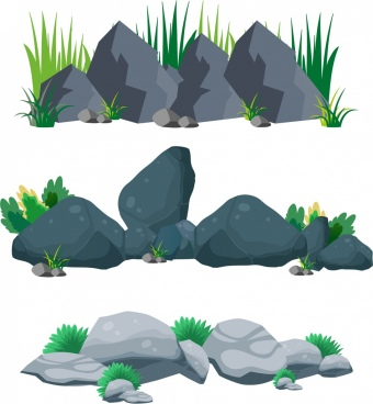 Free vector download for. Stone clipart aquarium stone png library stock