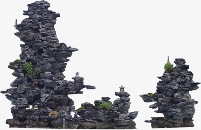 Rockery landscaping rock png. Stone clipart aquarium stone picture freeuse download